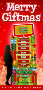 Casino Holiday Promotion - Super Prize Wheel
