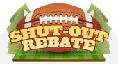 Holiday Promotions - Football Rebate