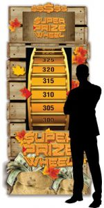 thanksgiving casino promotion - thankspinning super prize wheel