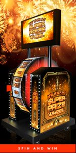 holiday promotions for casinos - NYE super prize wheel