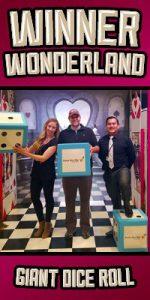 dice roll promotion - winner wonderland
