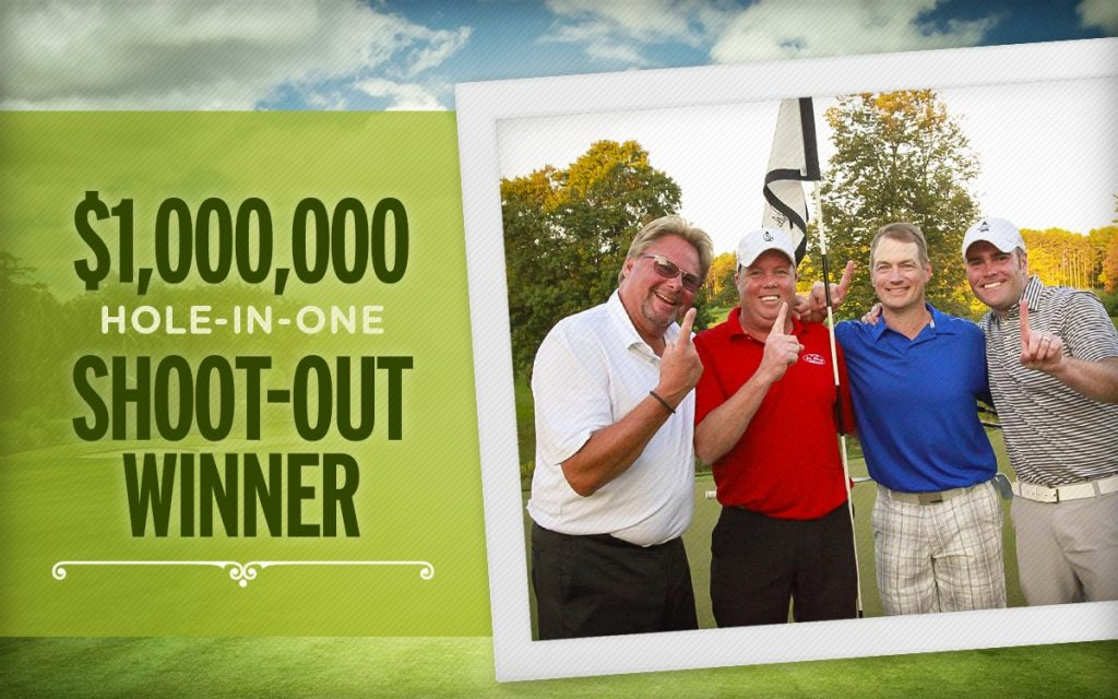 Million Dollar Shootout Winner - Ted