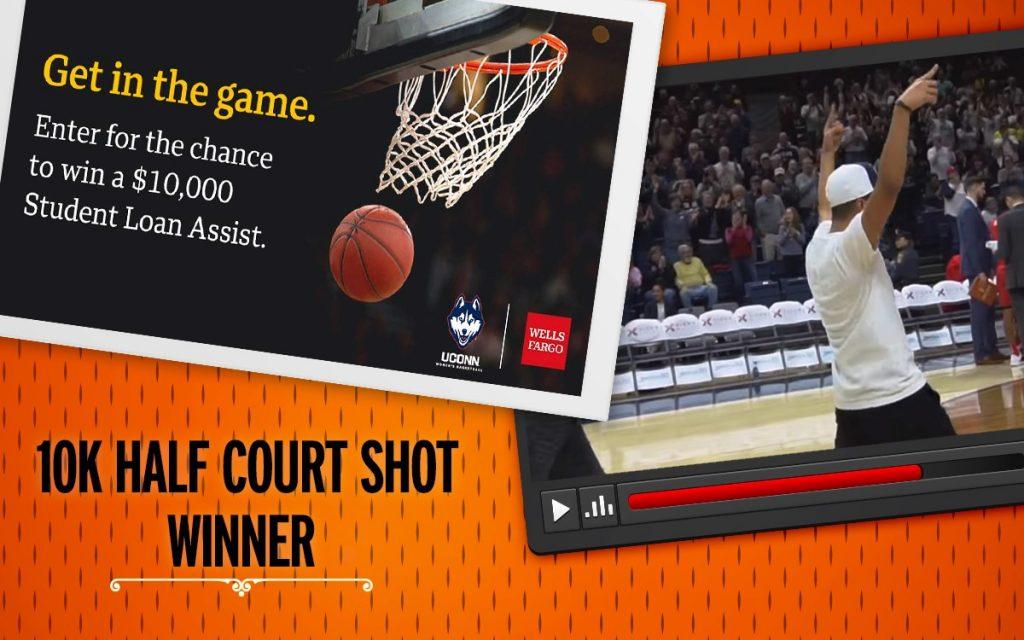 Half Court Shot Promotion Winner - Asher Iglesia