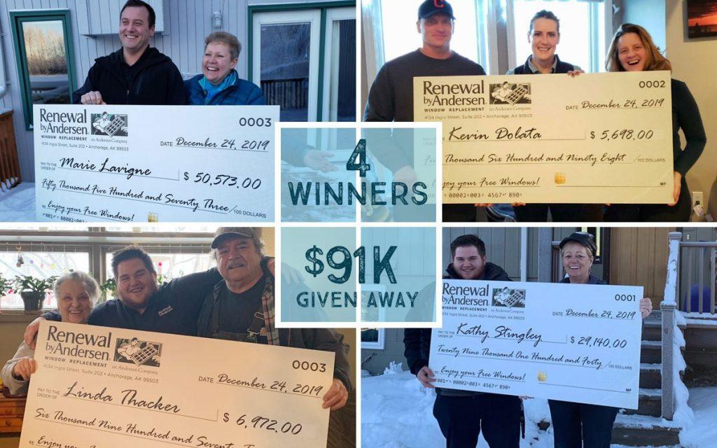 Weather Conditional Rebate Winners