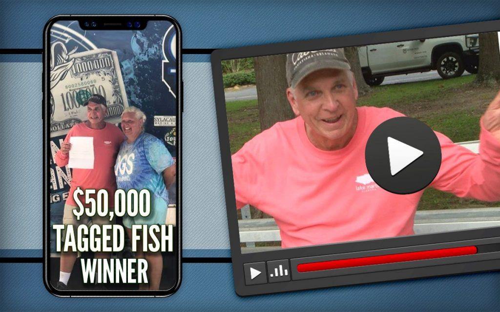 tagged fish contest winner